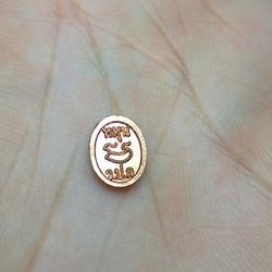 เหรียญเม็ดยาเล็ก วัดป่าหนองหล่ม รุ่นรวยเบิกฟ้า ปี59 รูปเล็กที่ 2