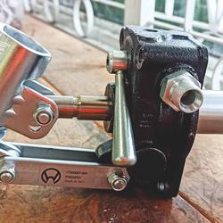 ปั้มมือโยกไฮดรอลิค แบบติดกับถังน้ำมัน (HAND PUMPS FOR TANK MOUNTING) ยี่ห้อ OLEO รุ่น PMI series รูปเล็กที่ 3