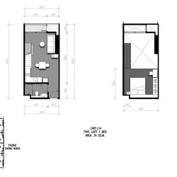 For Sale  The Lofts Silom (Hybrid room) รูปเล็กที่ 2