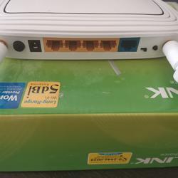 เร๊าเตอร์tplink tl3-wr843nd300mbpsสภาพใหม่แกะกล่องใช้งานได้ปกติ อุปกรณ์ครบ  รูปเล็กที่ 6