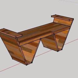เก้าอี้ไม้สักแท้ รูปเล็กที่ 2