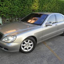 Benz S280 L 2004 ประวัติศูนย์ ระบบถุงลมและไฟฟ้าใช้งานได้สมบูรณ์ ไม่ติดแก๊ส สวยพร้อมใช้งาน  รูปเล็กที่ 4