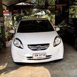 ขายรถบ้าน Honda Brio Amaze 1.2V/AT ตัวท๊อปปี 2013 รูปเล็กที่ 1