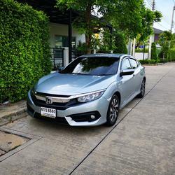ขายรถ ฟรีดาวน์ Honda Civic รุ่นท๊อปสุด 1.8 EL ปี 2017 ไมล์แท้ เข้าศูนย์ตลอด มือเดียวจากป้ายแดง รูปเล็กที่ 1