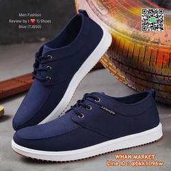 รองเท้าผ้าใบผู้ชาย วัสดุผ้าใบอย่างดี น้ำหนักเบา ใส่นิ่ม  รูปเล็กที่ 2