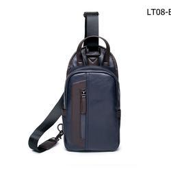 กระเป๋าหนังPUสีฟ้า รูปเล็กที่ 1