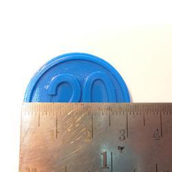 ขายเหรียญชิป คูปอง เหรียญชิพพลาสติกราคาถูกที่สุด รูปเล็กที่ 4
