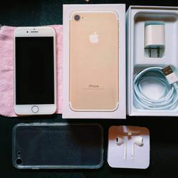 iPhone7 มือสอง 128G สีทอง รูปเล็กที่ 1