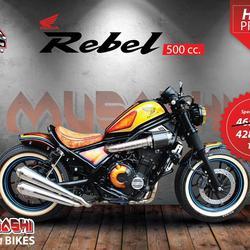 HONDA REBEL 500 cc