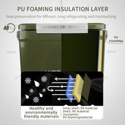 กระติกถังน้ำเก็บความเย็นถังแช่เครื่องดื่มน้ำเย็น22ลิตรเก็บความเย็นได้48ชม.ฝาเปิดได้2ทางมีจุกปล่อยน้ำด้านข้างhitorhike รูปเล็กที่ 3