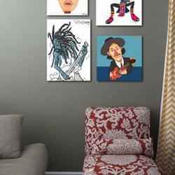 แต่งห้องแนวๆด้วยรูปติดผนังห้องแบบการ์ตูนครับ รูปเล็กที่ 2