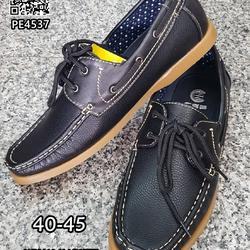 รองเท้าคัชชูหนังผู้ชาย boat shoes วัสดุหนังPU คุณภาพดี  รูปเล็กที่ 1
