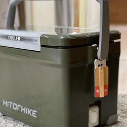 กระติกถังน้ำเก็บความเย็นถังแช่เครื่องดื่มน้ำเย็น22ลิตรเก็บความเย็นได้48ชม.ฝาเปิดได้2ทางมีจุกปล่อยน้ำด้านข้างhitorhike รูปเล็กที่ 5