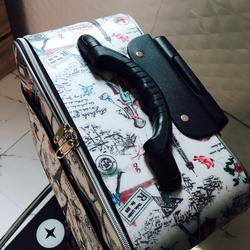 กระเป๋าเดินทางแบบผ้า ลายหอไอเฟล 16 นิ้ว รูปเล็กที่ 2