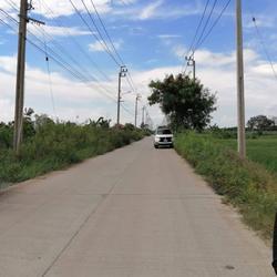 ขายที่ดิน ใกล้ทางขึ้นมอเตอร์เวย์ ติดถนนคอนกรีต 6 เมตร หน้ากว้าง 70 เมตร ลึกประมาณ 565 เมตร เป็นที่นา เดินทางสะดวก ทะลุหล