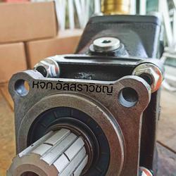 ปั้มงอไฮดรอลิคค หรือปั้มนิ้วแบบงอไฮดรอลิค ยี่ห้อ TDZ รุ่น FR series รูปเล็กที่ 1