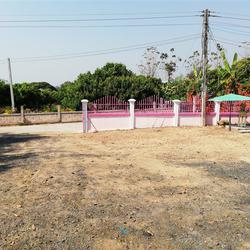 SS156ขายบ้านชั้นเดียวพร้อมที่ดิน0-2-09ไร่ติดทางสาธารณประโยชน รูปเล็กที่ 1