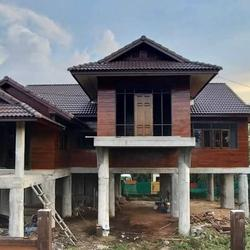 ขายบ้านเดี่ยว 2 ชั้นพัทยา  บ้านขายถูกใกล้เสร็จแล้ว ราคาขาย 3.9 ล้านบาท รูปเล็กที่ 1