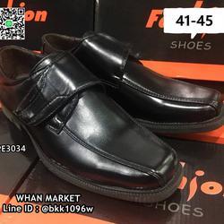 รองเท้าคัชชูผู้ชาย วัสดุหนังPU อย่างดี แบบสวม ทรงสุภาพ  รูปเล็กที่ 2