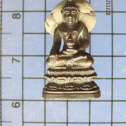 073 พระชัยวัฒน์ พระญาณสังวร วัดบวรนิเวสวิหาร เนื้อนวโลหะ
