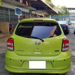 ขายรถเก๋ง Nissan March  2011 เขต ยานนาวา จังหวัด กทม. รูปเล็กที่ 2