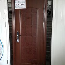 ประตูนิรภัย ประตูสำเร็จรูป ประตูบานเปิด รูปเล็กที่ 1