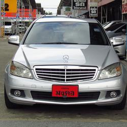 ⭐ ฟรีดาวน์ ออกรถ 0 บาท Benz C 200 K ELEGANCE ปี 2008 W 204 เบ็นซ์ รถบ้าน รถมือสอง รูปเล็กที่ 2