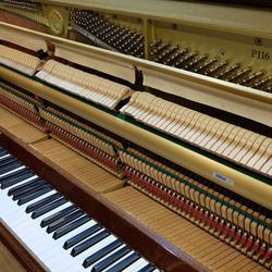 ประกาศขายเปียโนอัพไรท์ YAMAHA P116 สีไม้เดิมๆ สวยงามมากๆ รูปเล็กที่ 2
