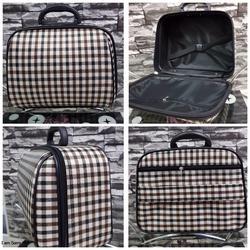 กระเป๋าเดินทางแบบผ้า 13 นิ้ว ลาย Khaki/Brown รูปเล็กที่ 1