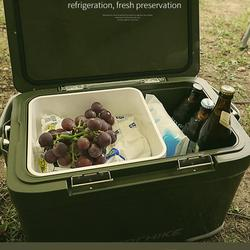กระติกถังน้ำเก็บความเย็นถังแช่เครื่องดื่มน้ำเย็น22ลิตรเก็บความเย็นได้48ชม.ฝาเปิดได้2ทางมีจุกปล่อยน้ำด้านข้างhitorhike รูปเล็กที่ 1