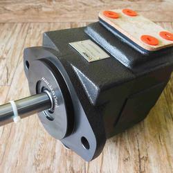 ปั๊มใบพัดแรงดันสูงตอนเดี่ยว และแบบสองตอน (vane pump) ปั๊มแรงดันสูงยี่ห้อ HOF รูปเล็กที่ 1