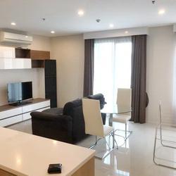 FOR RENT VILLA ASOKE 2 BEDROOMS 80 SQM. 45,000 THB