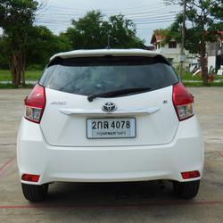 ฟรีดาวน์ ออกรถ 0 บาท TOYOTA YARIS ปี 2013 รุ่นท็อปสุด 1.2 GE-CO อีโค่คาร์ สีขาว ไม่เคยชน ราคาถูก พร้อมใช้ ปุ่มสตาร์ท รูปเล็กที่ 5